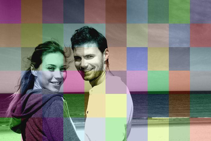 exemple - multicolore