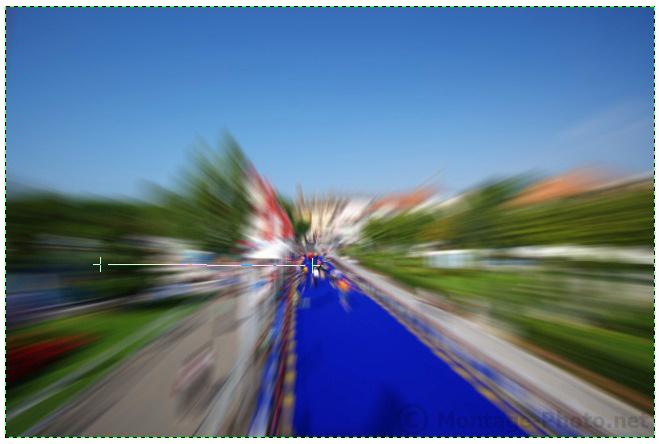 application degrade - gimp-effet-zoom