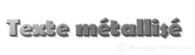 biseau graduel - gimp-texte-metallise