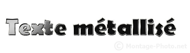 degrade metallique - gimp-texte-metallise