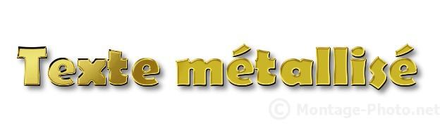texte metallise - gimp-texte-metallise